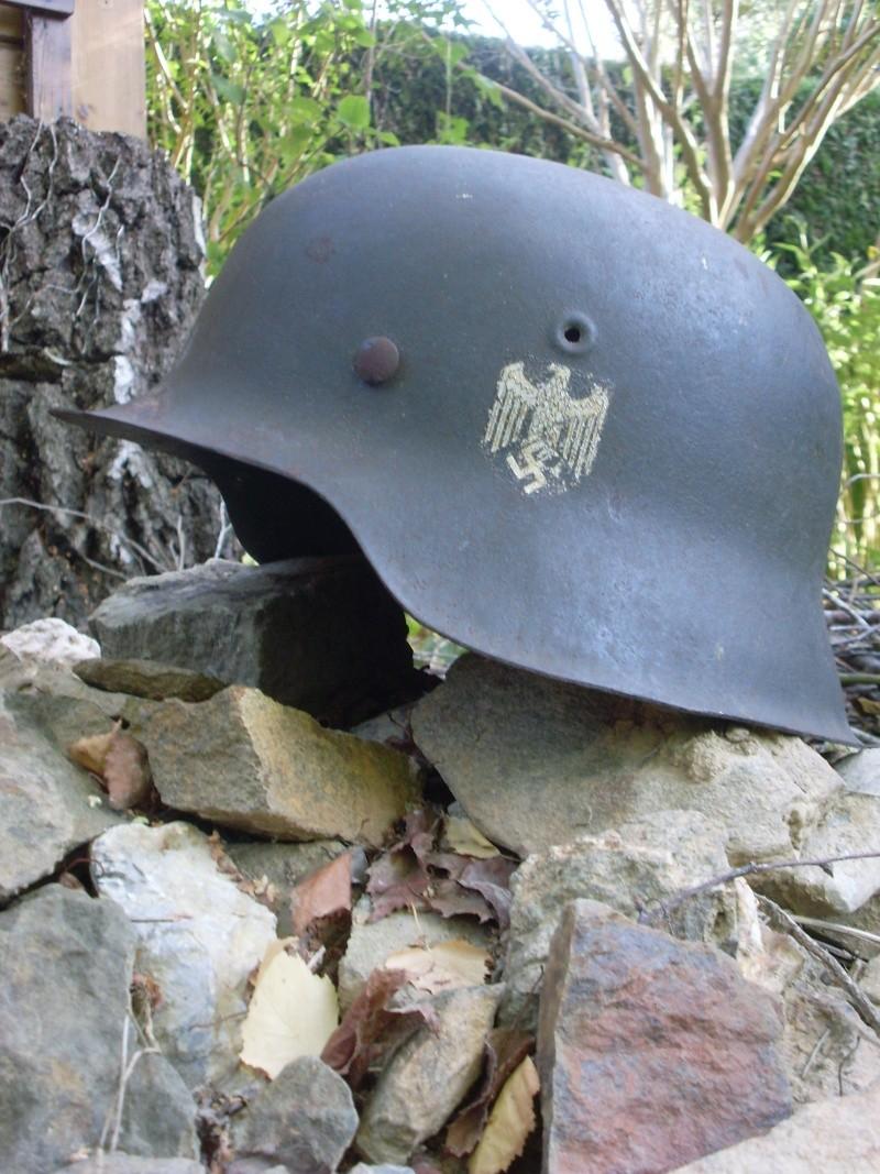 Votre plus beau casque Allemand WWII Sl379743