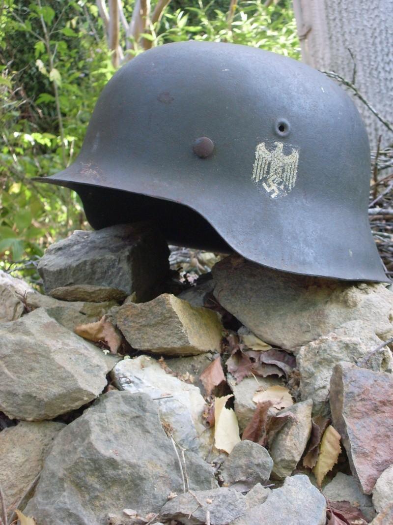 Votre plus beau casque Allemand WWII Sl379748