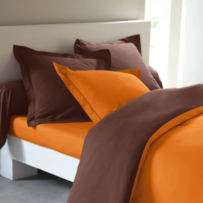 Beau Emejing Deco Chambre Orange Et Marron Pictures   House Design .