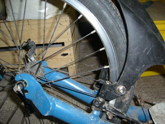 Garde-boue arrière Footbike. Gadebo10