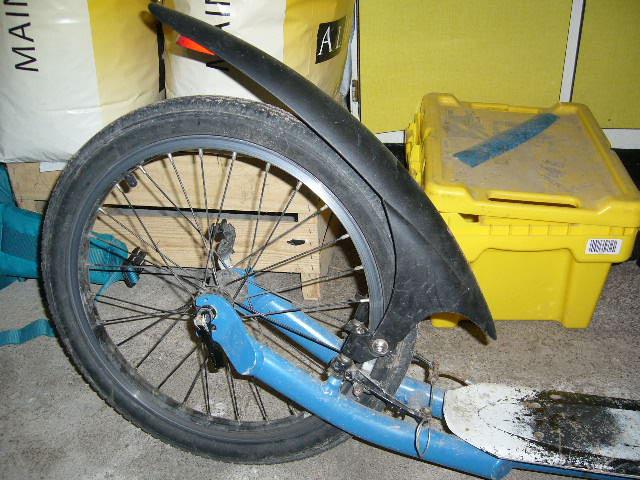 Garde-boue arrière Footbike. Gb12