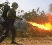 RoNo Sig Flame Thrower