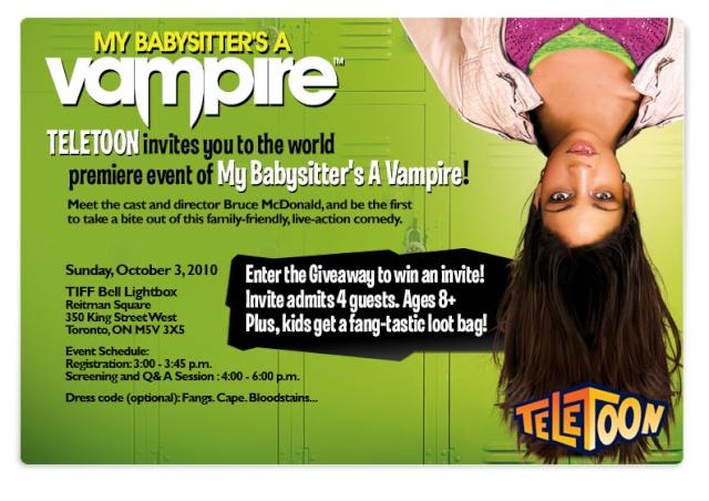 My Babysitter's a Vampire (2010, Bruce McDonald) 813