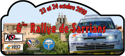 Rallye de Sarrians 2010 Plaque10