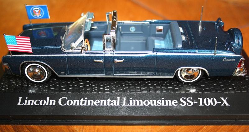 La Lincoln Continental du Président KENNEDY 110