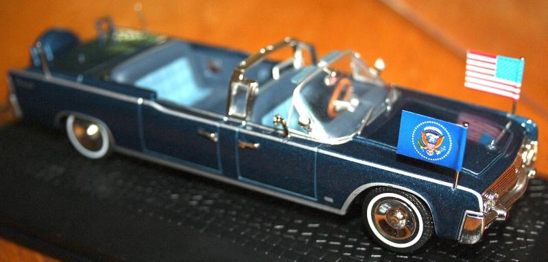 La Lincoln Continental du Président KENNEDY 210