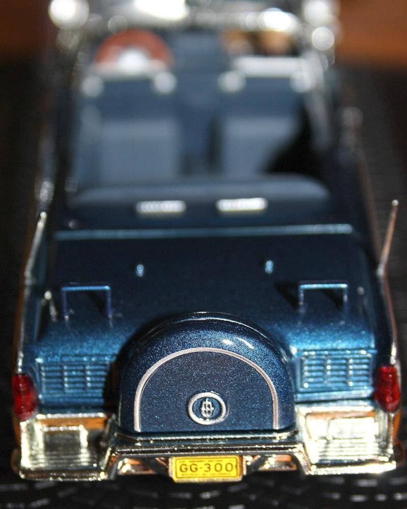 La Lincoln Continental du Président KENNEDY 410