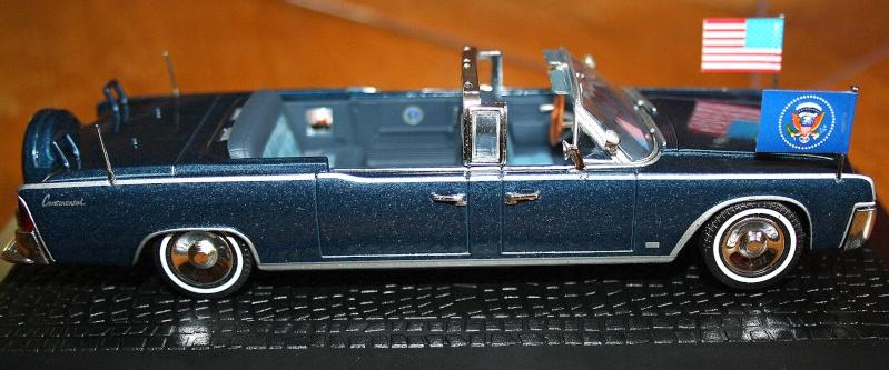La Lincoln Continental du Président KENNEDY 610