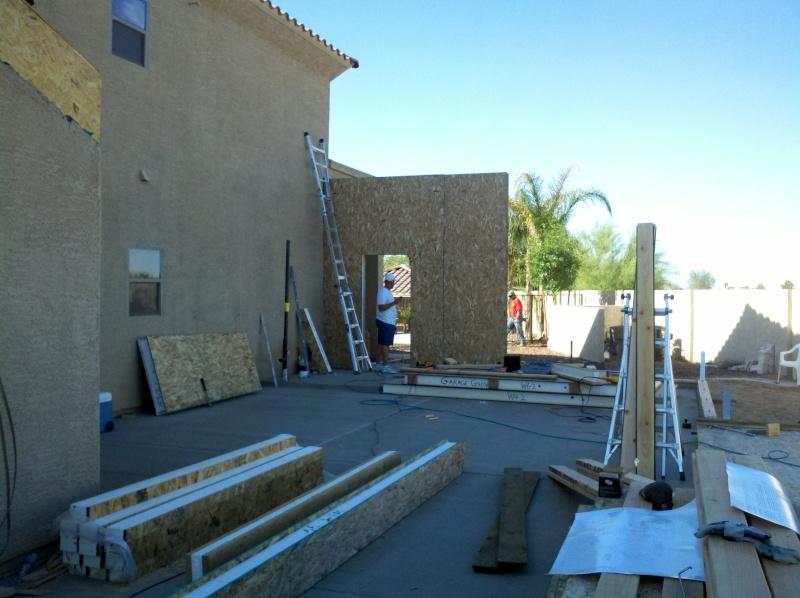 New Garage - Lift Installed 2011-022