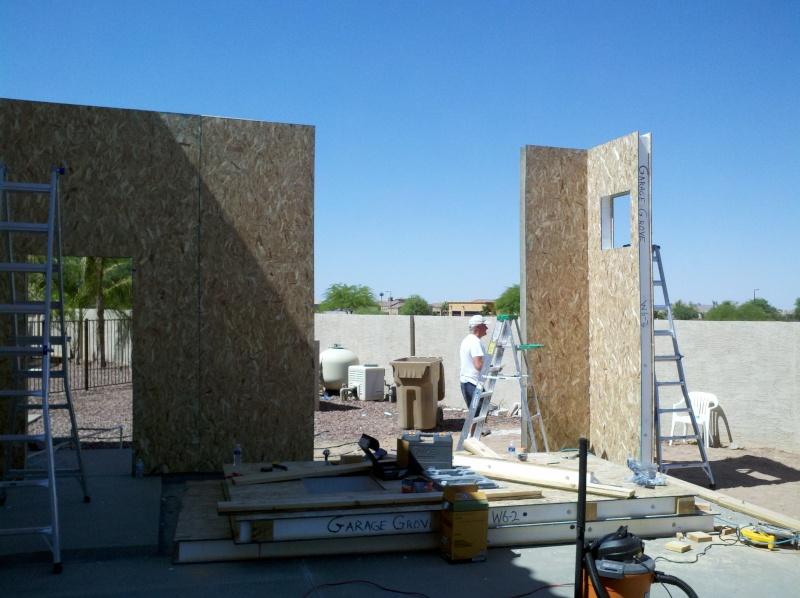 New Garage - Lift Installed 2011-023