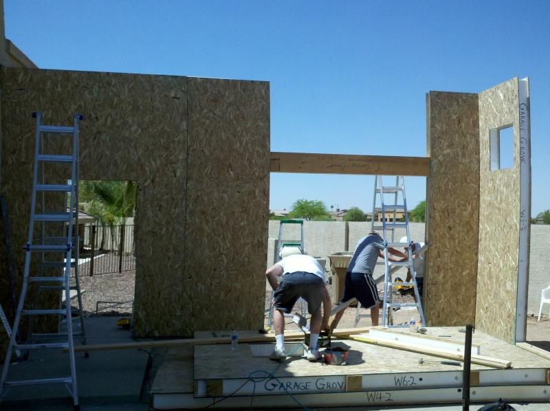 New Garage - Lift Installed 2011-024