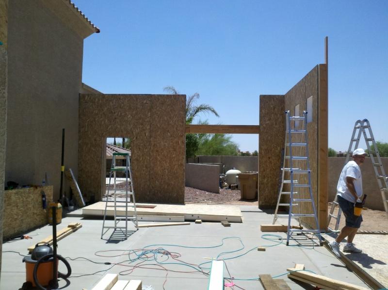 New Garage - Lift Installed 2011-025