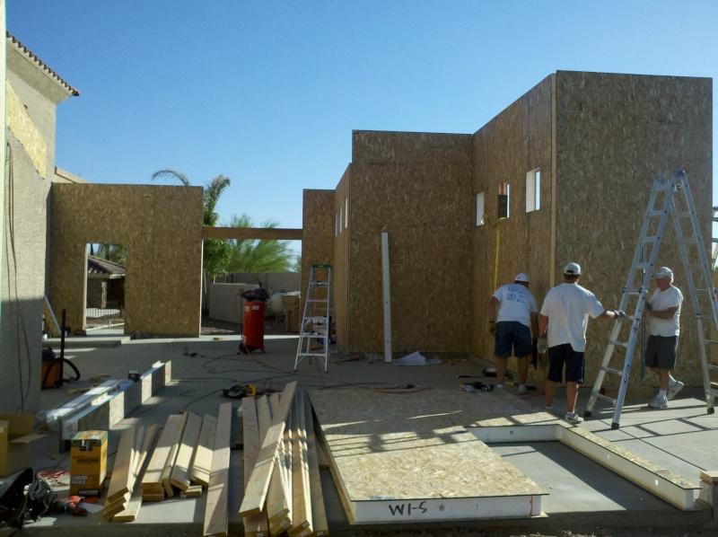 New Garage - Lift Installed 2011-026