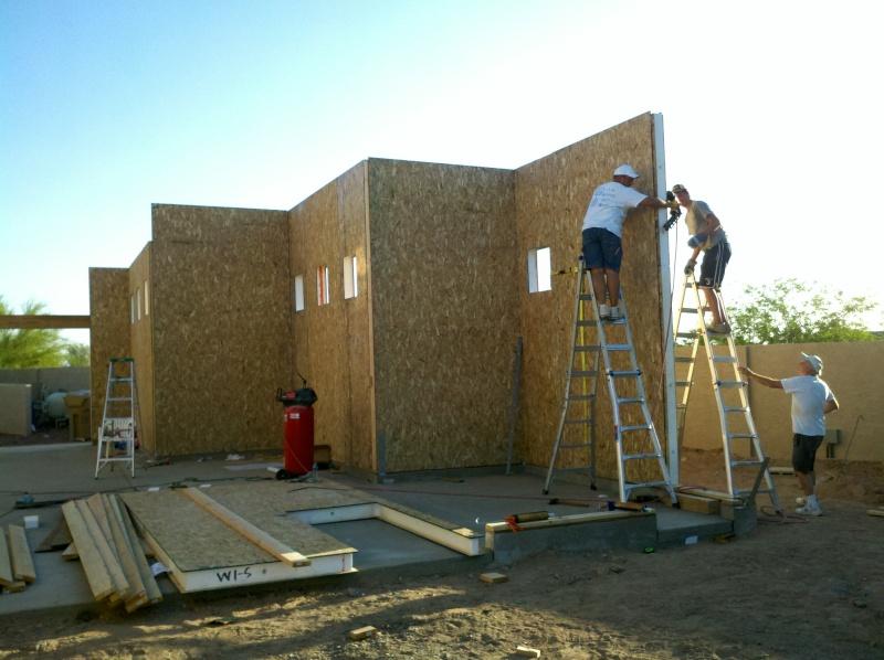 New Garage - Lift Installed 2011-027