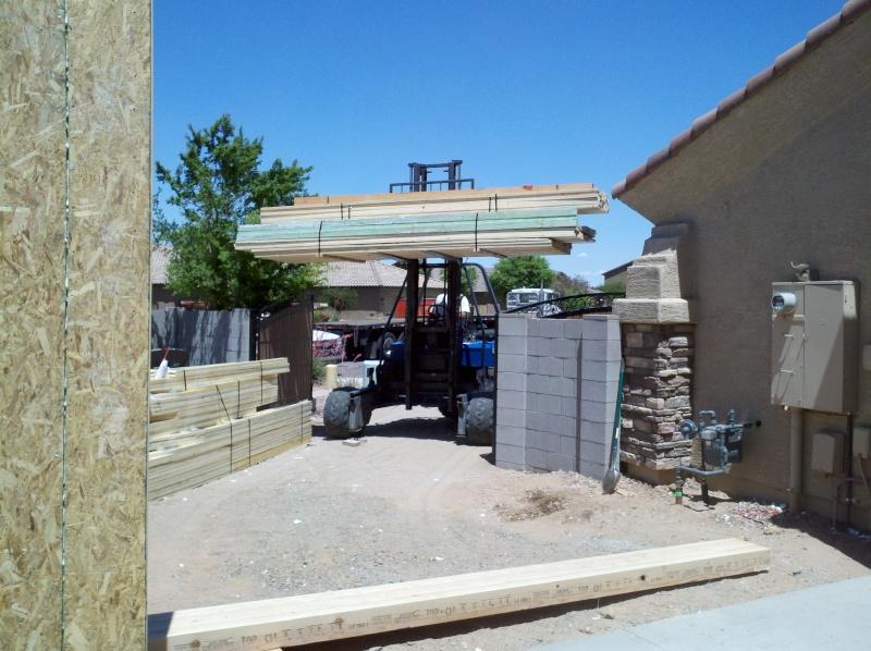 New Garage - Lift Installed 2011-031
