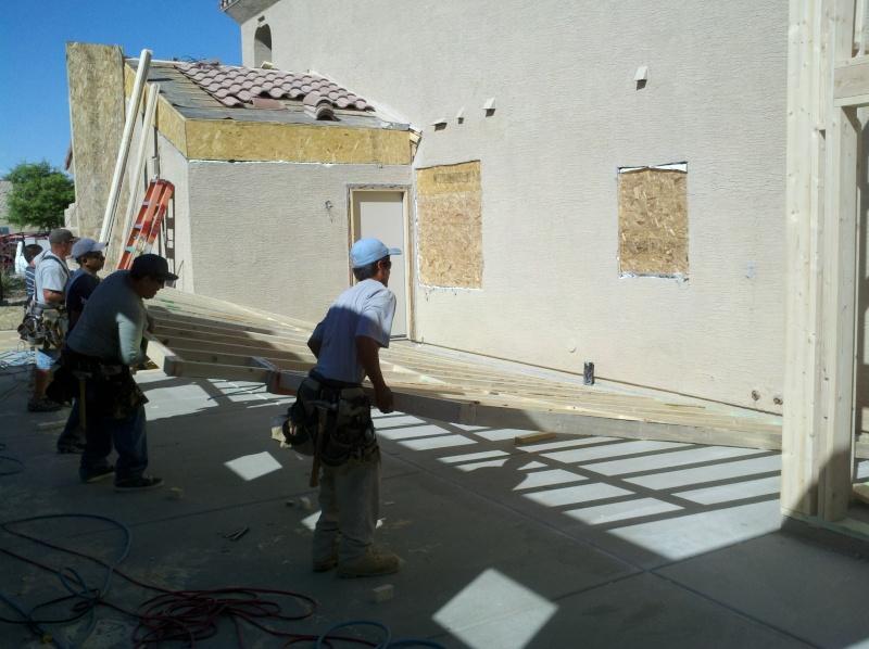 New Garage - Lift Installed 2011-033