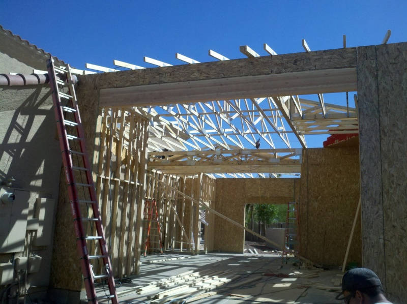 New Garage - Lift Installed 2011-036