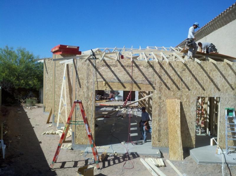 New Garage - Lift Installed 2011-037