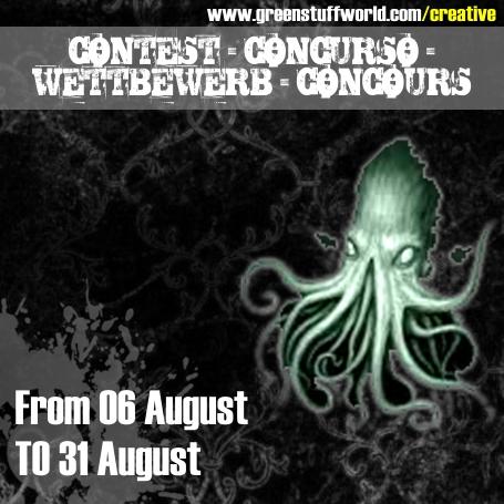 Concours online de Peinture et de Sculpture - Août - greenstuffworld Concou10