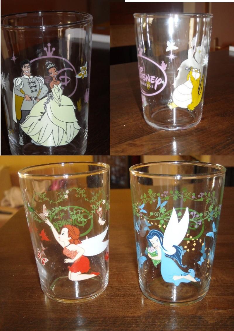 collection verres Disney  1410