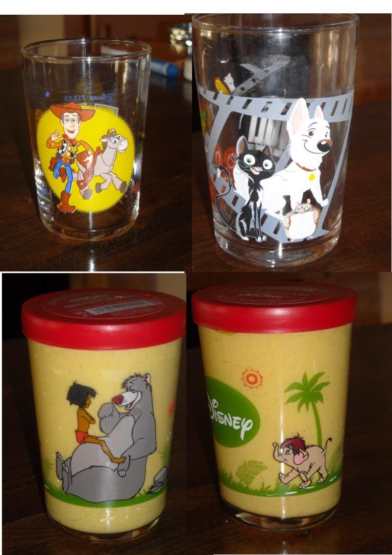 collection verres Disney  1510