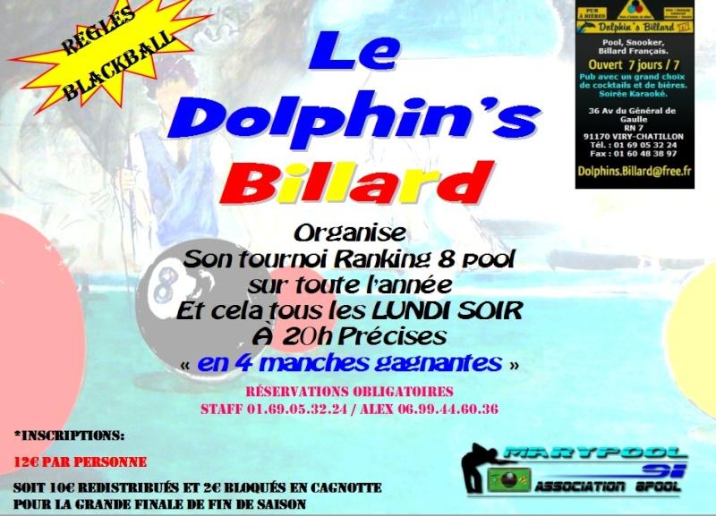 TOURNOI RANKING CHAQUE LUNDI AU DOLPHIN'S BILLARD Tourno10