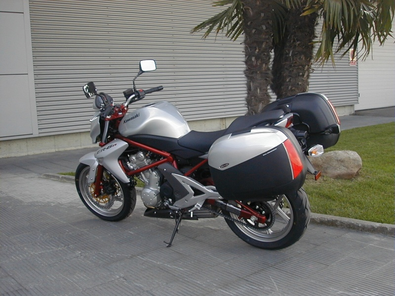 Pictures Ninja 650R / ER-6N with Shad Motorcases 11250013