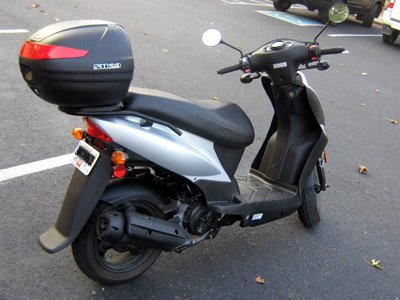 Picture of Kymco Agility with Shad Motorcases Agilit10