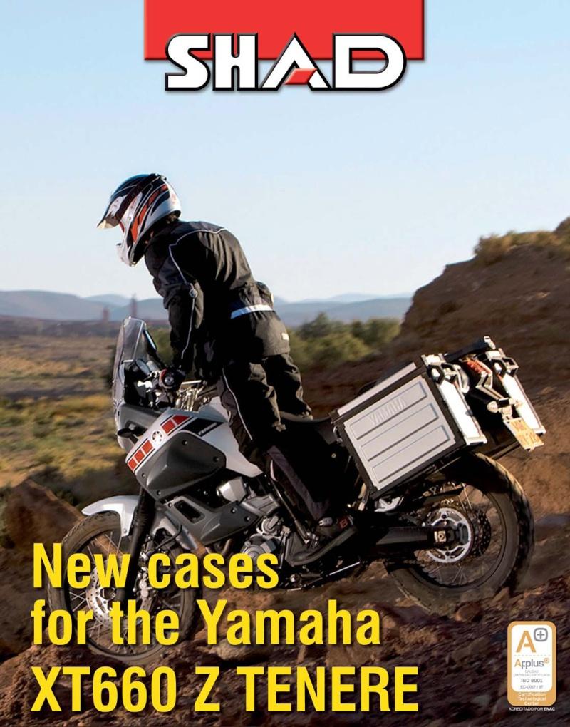 SHAD produces Original Equipment Luggage for the YAMAHA XT 1200Z Super Tenere. Portad10