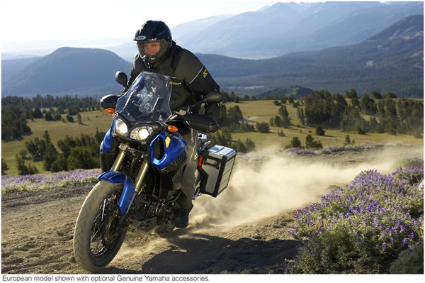 SHAD produces Original Equipment Luggage for the YAMAHA XT 1200Z Super Tenere. Tenere10