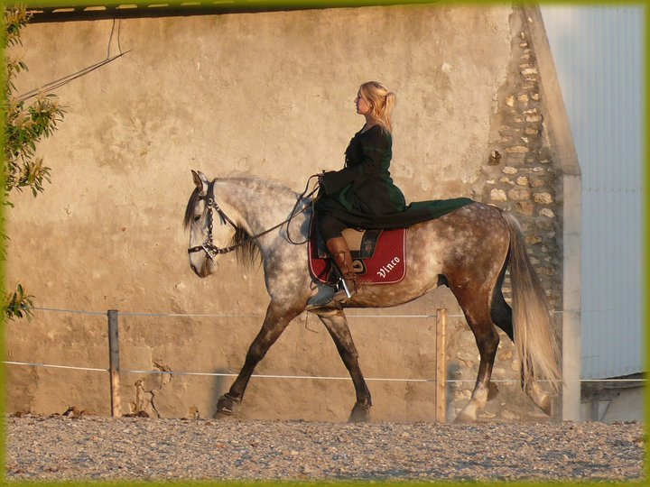 new costum with my horse 21591910