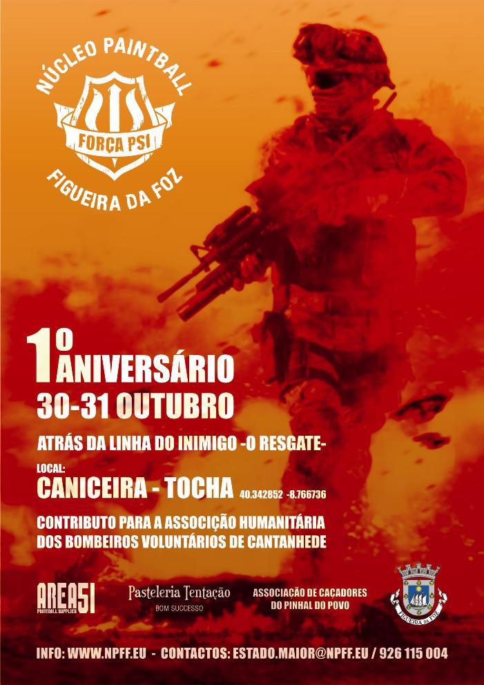 1º Aniversario Força PSI Cartaz10