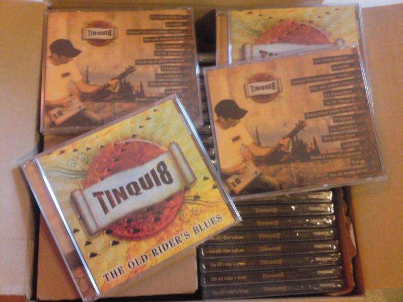 "Le premier album de TINQUI8 ""The old rider's blues"" Img44210"