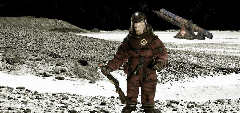 dans l'espace il y a la lune !!!!! Action10