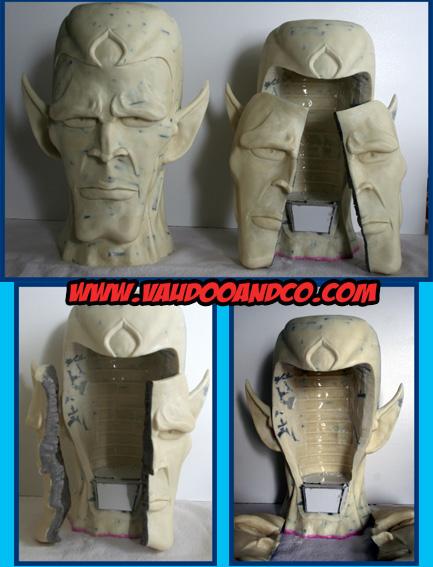 Goldorak : Buste au 1/1 de Minos par sculpteurfou Versio13