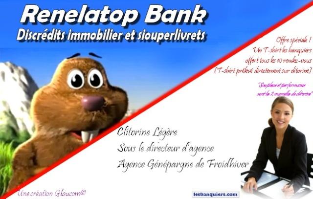 Une nouvelle banque est née !!! Renela13