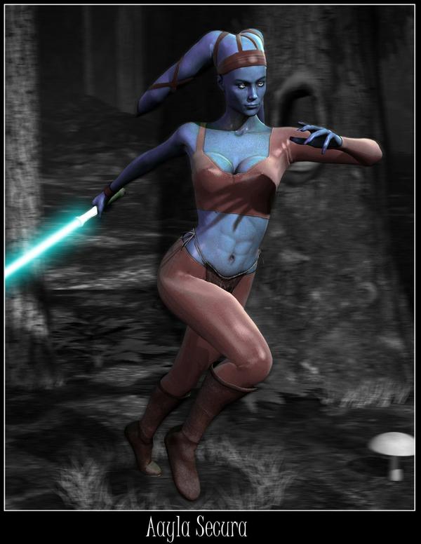 """Aayla Secura"" et ""Commander Bly"", le cosplay. Aayla_11"
