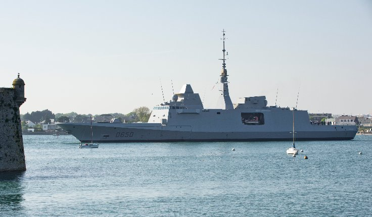 French Navy: News Fremm110