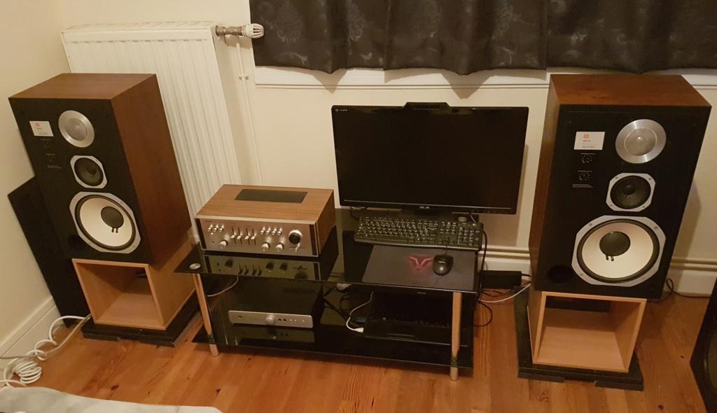 Ma petite installation Rotel - JBL 110