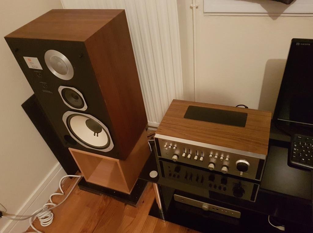 Ma petite installation Rotel - JBL 210