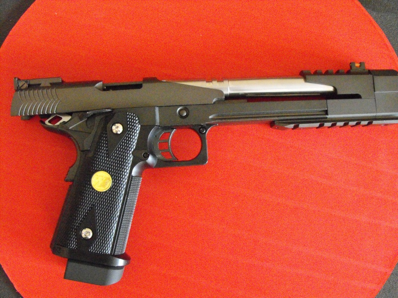 Review WE HI-CAPA 7inch Dragon B Full Metal GBB Pistol Dscf5011