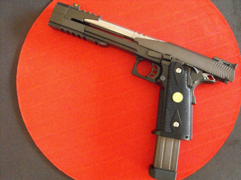 Review WE HI-CAPA 7inch Dragon B Full Metal GBB Pistol Dscf5012