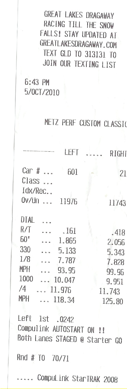 A new pb and one year later Scan0020