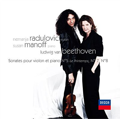 Nemanja RADULOVIC Sonates de BEETHOVEN New CD DECCA 2010 & Susan MANOFF 00289410