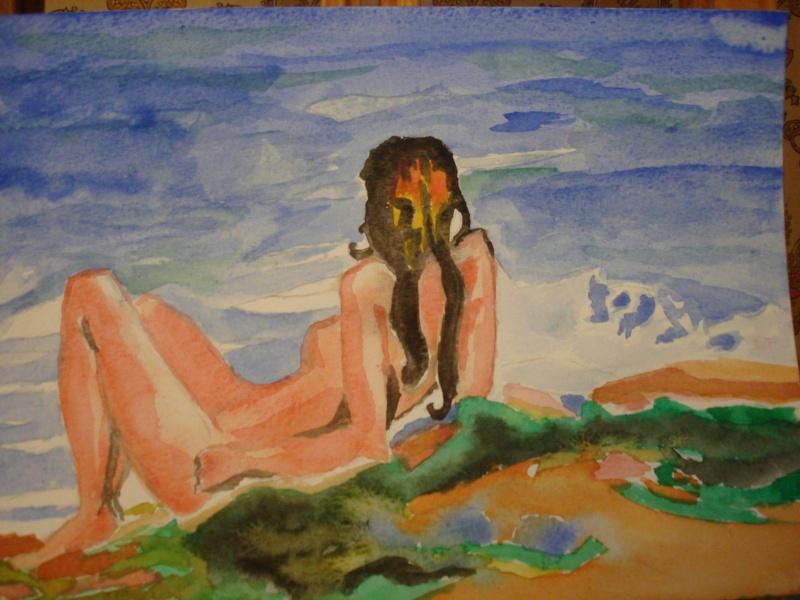 Mireille - aquarelle terminé Dsc01410
