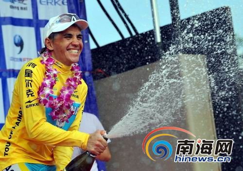 TOUR OF HAINAN  --Chine-- 11 au 19.10.2010 I10