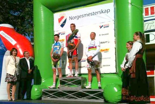 CHAMPIONNAT DE NORVEGE SUR ROUTE -- 26.06.2011 Norveg10