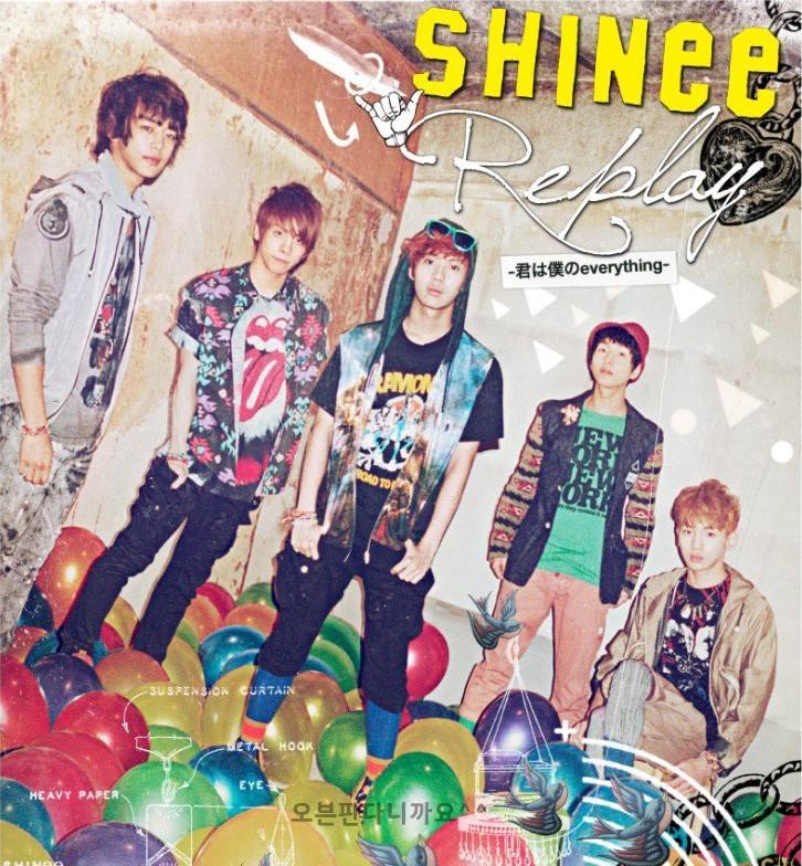 [SHINee] REPLAY Japanese PV released B0011610