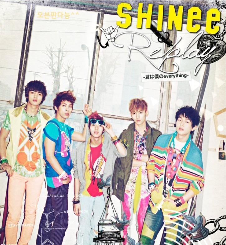 [SHINee] REPLAY Japanese PV released B0011611