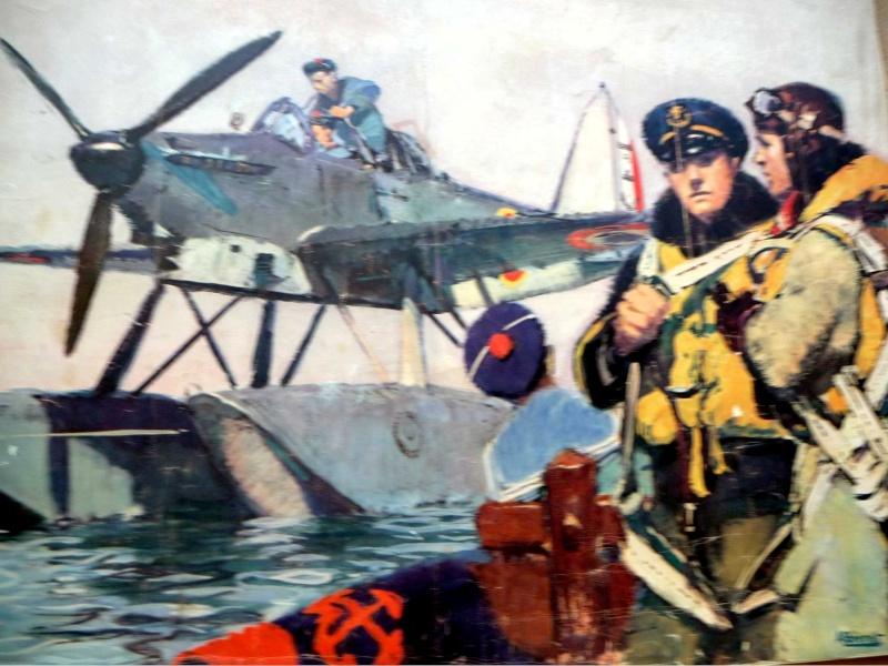 HOURTIN MARINE 1946. Rochef10